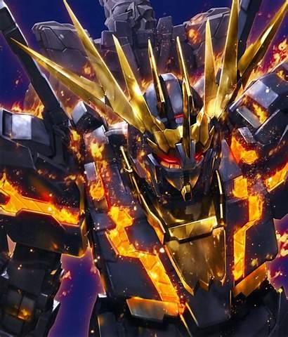 Gundam Banshee Mobile Unicorn Suit Universe Artwork