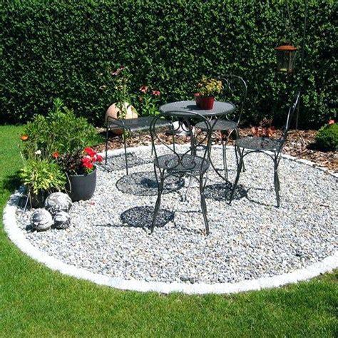 Gartengestaltung Mit Sitzecke by Sitzecke Garten Kies