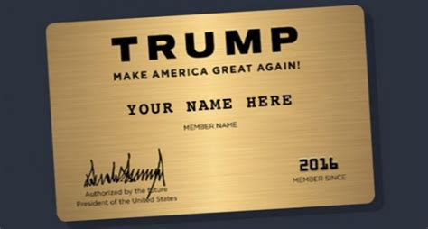 trump donald card trading