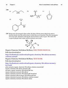 Mcmurry Organic Chemistry 9th Solutions Manual Pdf