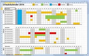 Vorlage urlaubsplaner 2016 kostenlos calendar template 2016 for Teamkalender excel