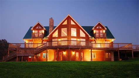 Nashville Area Luxury Log Home On Secluded Homeaway