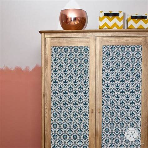 tribal modern and retro furniture stencils for decor royal design studio