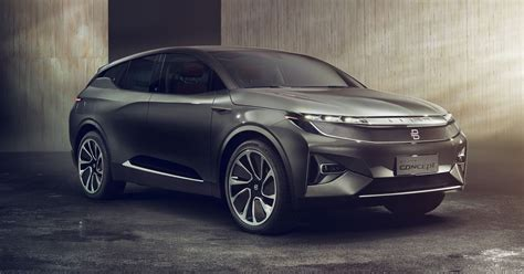 Byton's Electric Suv Concept Is Another Wild Stab At The