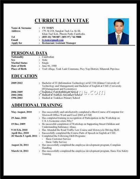 Writing A Professional Cv by Cvs Mascara Sles Cvv Fonts Format Exle Resume