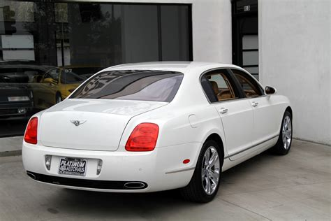 bentley continental flying spur  miles