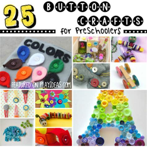 25 as a button crafts for preschoolers page 8 615 | 25 button crafts for preschoolers square