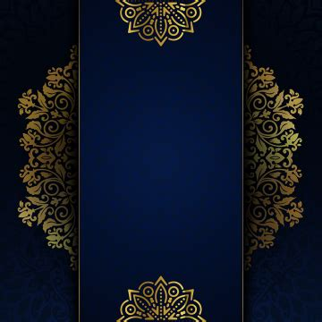 wedding card  invitation islamic luxury floral frame