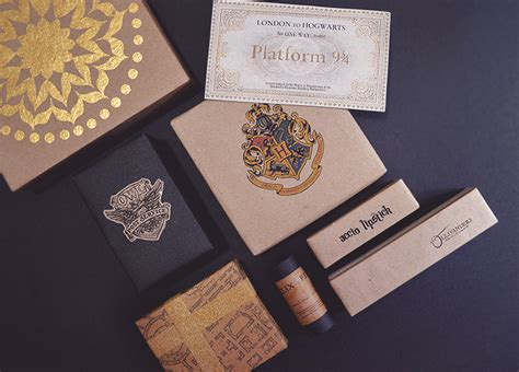 diy harry potter themed presents of all you see of all you see