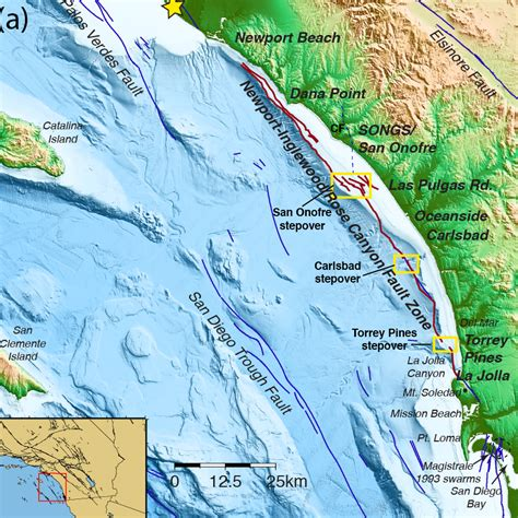 Fault System off San Diego, Orange, Los Angeles Counties ...
