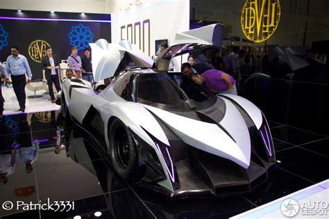 dubai motor show  devel sixteen