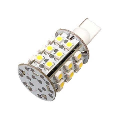 hqrp 4 pack t10 wedge base 30 leds smd 3528 led bulbs warm