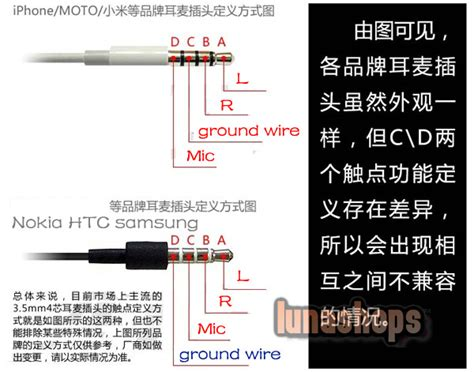 Samsung Galaxy Headphone Wiring Color by Usd 4 00 3 5mm 4 Poles To Cable Convertor