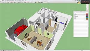 plan appartement sketchup With plan maison sketchup gratuit