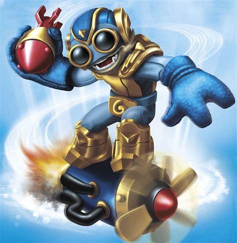 meet  skylanders swap force character boxmash