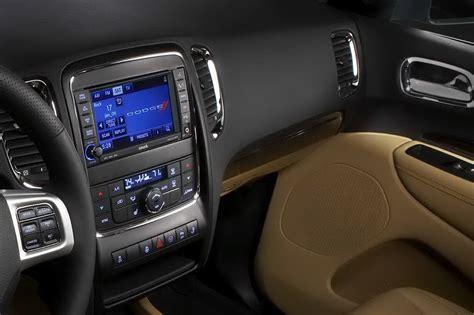 interior    dodge durango suv carscoops