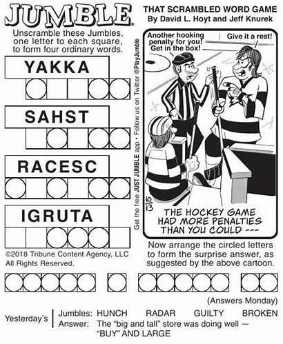 Jumble Puzzles Comics Pdf Poststar