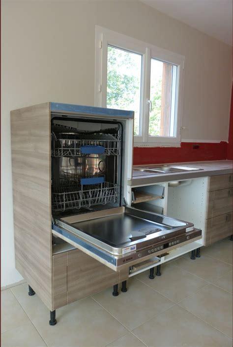 lave vaisselle en hauteur cuisine hauteur lave vaisselle