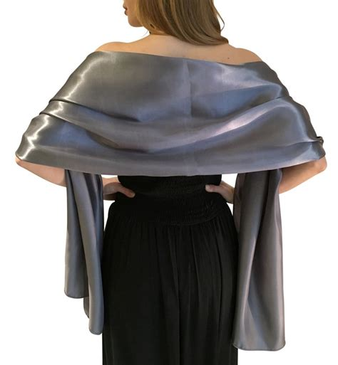 Gunmetal Grey Satin Wrap Shawl, Wedding Prom Party  Wraps. 4 Carat Rings. 1.35 Carat Engagement Rings. Homemade Engagement Rings. Pirouette Wedding Rings. Light Colored Engagement Rings. Crossover Rings. Evil Queen Engagement Rings. Natural Peridot Engagement Rings