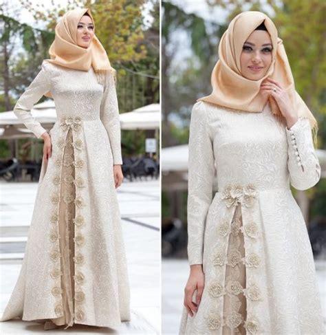 gamis murah elegan model baju muslim gamis modern terbaru 2018 untuk lebaran