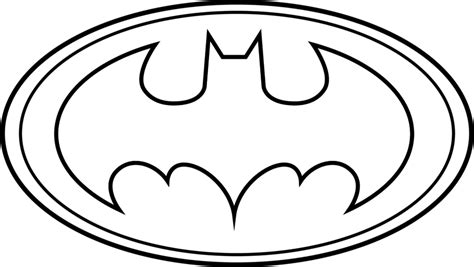 batman symbol printable template clipart  clipart