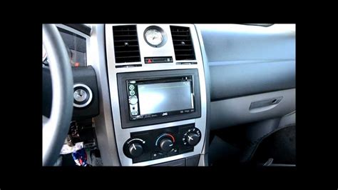 Chrysler 300 Stereo Upgrade by 2005 2009 Chrysler 300 2 Din Radio Upgrade And Brushed