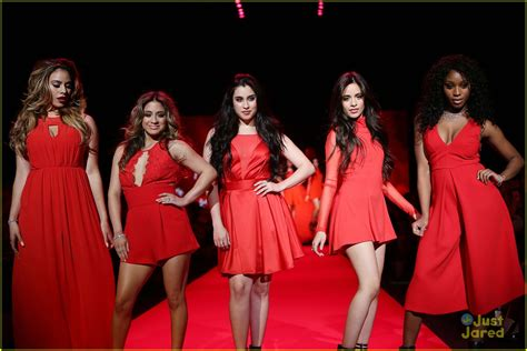 Fifth Harmony Go Red For New York Fashion Week - See Their Runway Pics!   Photo 774832 - Photo ...