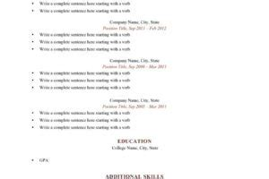 How To Improve Your Resume With No Experience by Importance Of Resume Cv Proofreading Editing