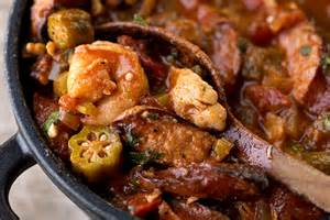Chicken and Shrimp Gumbo with Okra