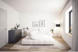 Scandinavian Bedroom Design Ideas And Colorful Watercolor Accents Used Throughout This Bedroom Design