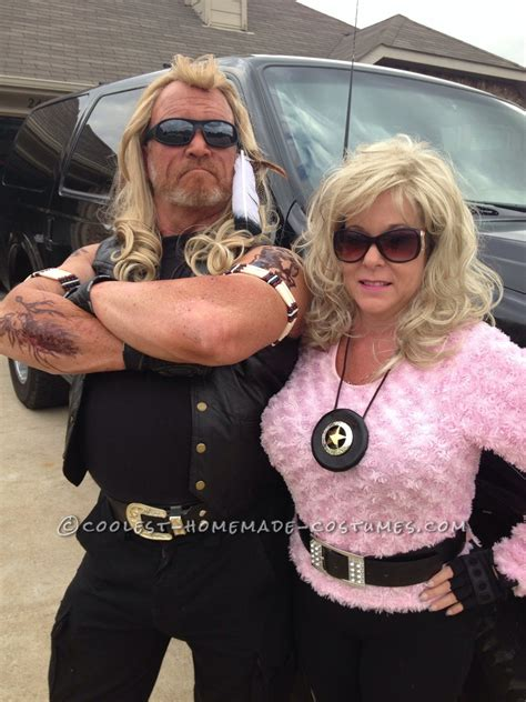 dog the bounty hunter and beth costumes image mag dog beds