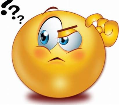 Thinking Smiley Question Face Clipart Emoticon Mark
