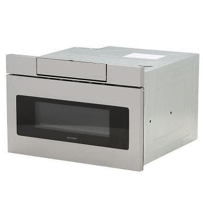 sharp drawer microwave 24 sharp built in 24 quot microwave drawer in stainless steel