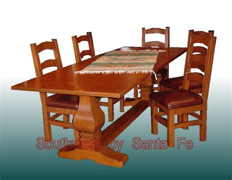 dining table southwest style dining table