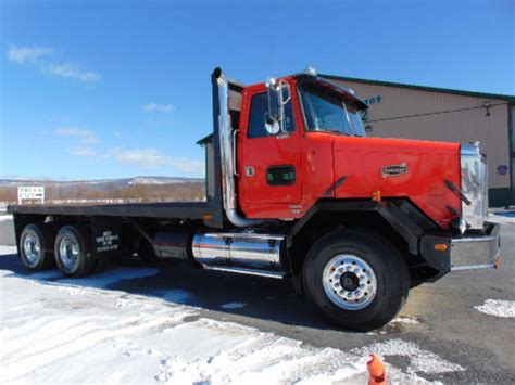 25704 flatbed truck beds for autocar flatbed dump truck for 10465