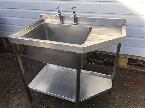 shelf for kitchen sink stainless steel sink single bowl used 7922