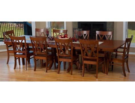 amish dining table with self storing leaves 26 best tables images on pinterest amish furniture