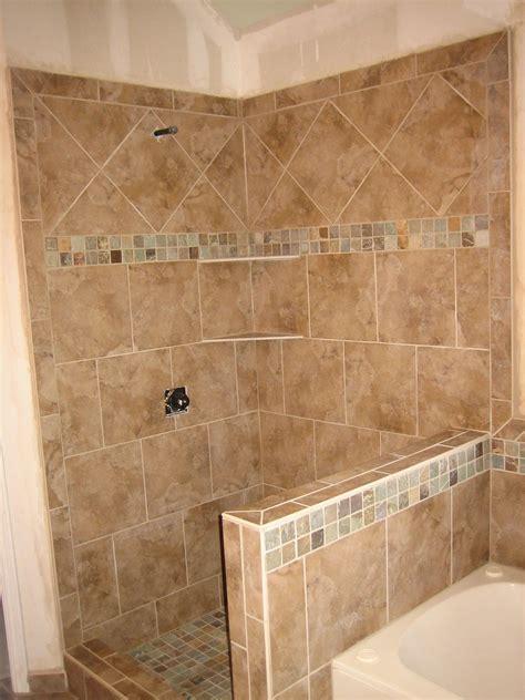 Wall Tile Designs Bathroom by Shower Pony Wall Tub Surround 9 2008 Pony Wall Tub