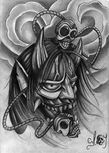 Demon Japonais Dessin : dessin masque jap slay 2 ~ Maxctalentgroup.com Avis de Voitures