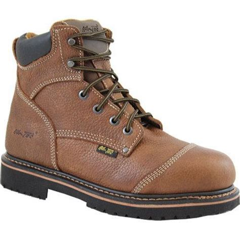 mens comfortable work boots s adtec 9186 comfort work boots 6in light brown free