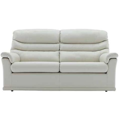 3 cushion leather sofa g plan malvern leather 2 cushion 3 seater sofa