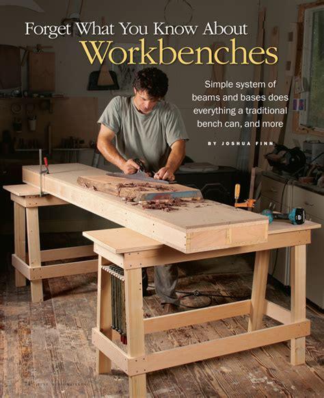 workbench   build finewoodworking