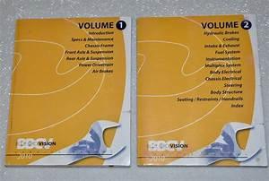 2010 Blue Bird Vision School Bus Factory Dealer Shop Service Repair Manual Set