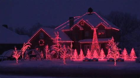 voice over 2007 holdman christmas light display youtube