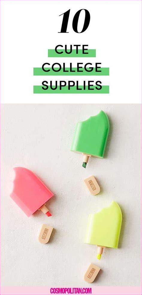 cool college school supplies cute college essentials