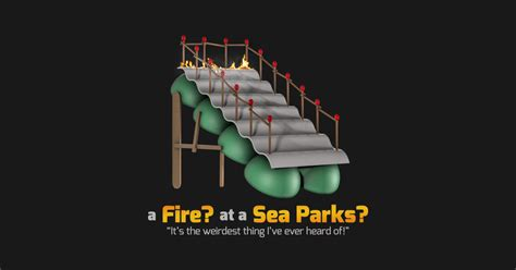 A Fire at a Sea Parks? - It Crowd - T-Shirt | TeePublic