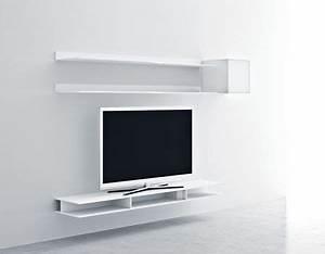 Etagere Pour Tv : etagere murale pour tv 9 id es de d coration int rieure french decor ~ Teatrodelosmanantiales.com Idées de Décoration