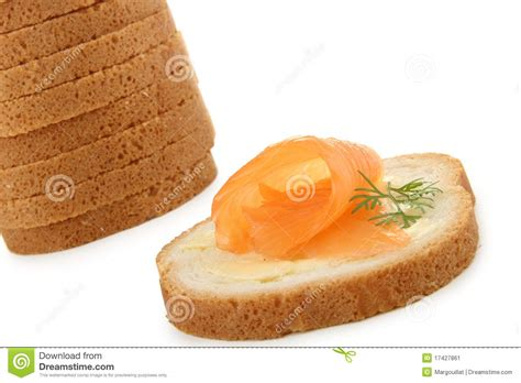 canape stock canapes salmon stock image image 17427861