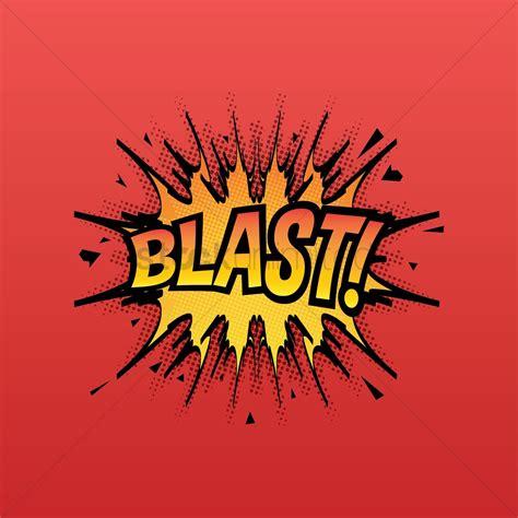 Comic bubble blast Vector Image - 1707936 | StockUnlimited