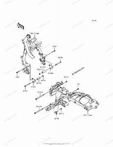 Kawasaki Motorcycle 2016 Oem Parts Diagram For Engine